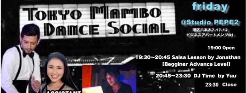 5/28(金) TOKYO MAMBO DANCE SOCIAL