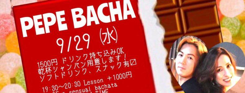 9/29(水) PEPE BACHA